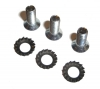 Drum screws and washers from Renault Estafette.