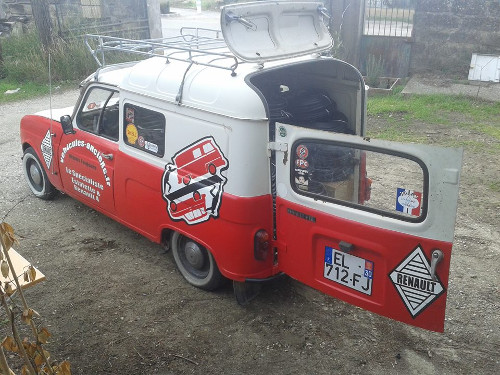 4L R4 parts Estafette Renault