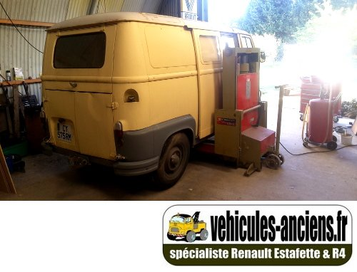 Estafette Renault Fourgon